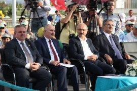 Bakan Elvan, Karaman'da İçme Suyu Tesisleri ve Türk Dünyası Kültür Parkı'nın açılışını yaptı