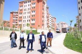 Başkan Çalışkan, TOKİ'nin yol ve toplu ulaşım sorununa el attı