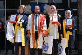 Kazım Karabekir MYO'da mezuniyet coşkusu