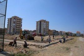 Karaman'da Mehmet Bey Mahallesine yeni park