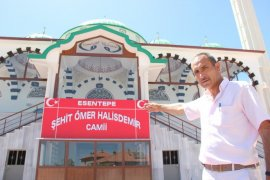 15 Temmuz kahramanı Şehit Ömer Halisdemir'in ismi Karaman'da camide yaşatılacak