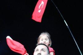 Karaman,15 Temmuz için tek yürek oldu