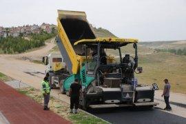 Karaman Belediyesi'nde asfalt çalışmaları sürüyor