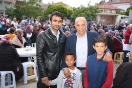 Karaman'da beş mahallenin sakinleri iftar sofrasında buluştu