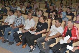 KMÜ'de sürekli işçi kadrosuna geçen personele eğitim