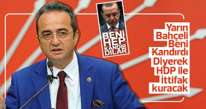 Erdoğan, Bahçeli beni kandırdı diyecek