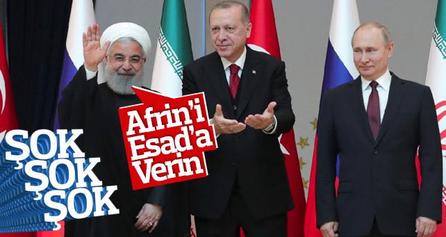 Üçlü zirveye ilişkin ilk açıklama İran'dan geldi