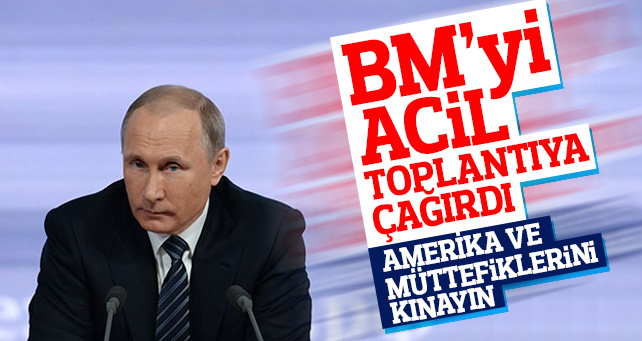 Suriye Saldırısından sonra Putin'den ilk açıklama!