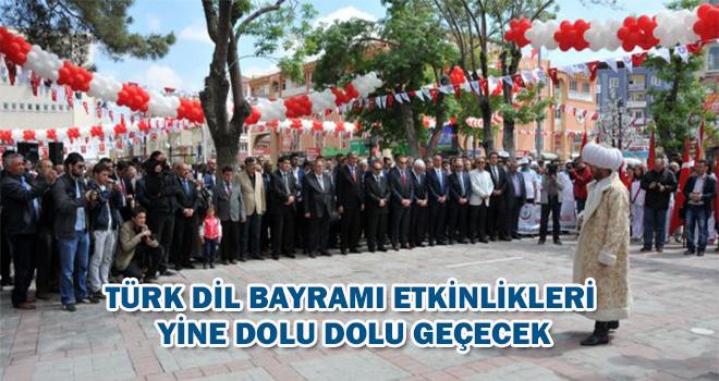 Türk Dil Bayramı Ve Yunus Emre'yi Anma Etkinlikleri Yine Dolu Dolu Geçicek