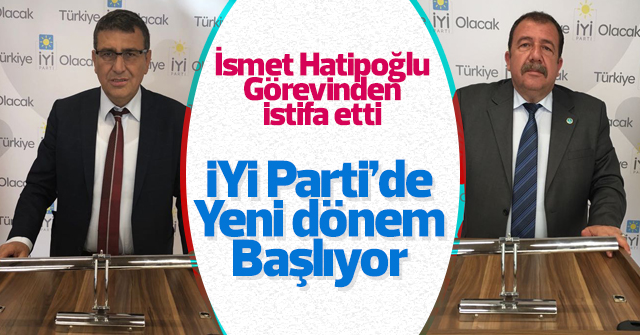 İYİ Parti'nni yeni il başkanı Mustafa Akın oldu.
