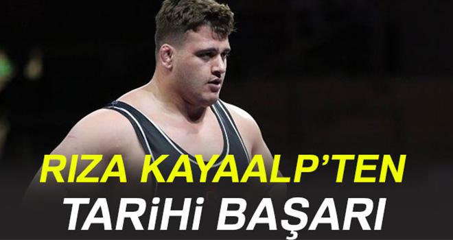 Rıza Kayaalp Avrupa şampiyonu oldu!