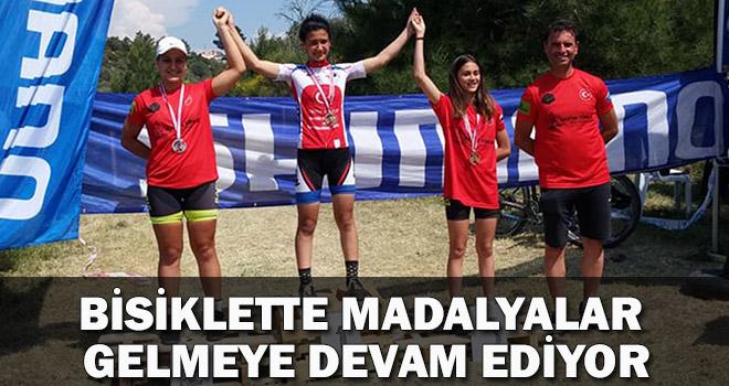 Bisiklette Madalyalar Gelmeye Devam Ediyor