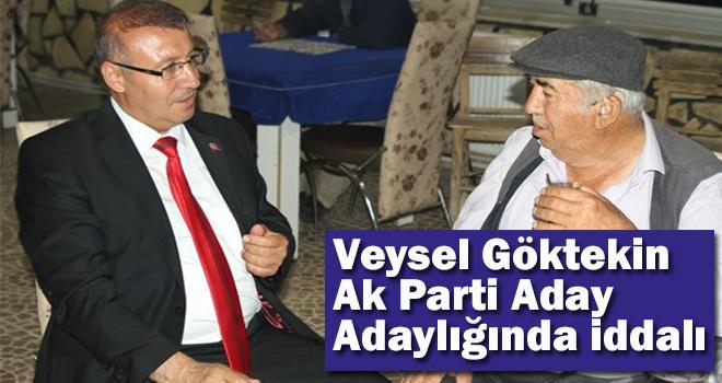 Ak Parti Karaman Milletvekili Aday Adayı Veysel Göktekin seçim çalışmalarını ara vermeden sürdürüyor