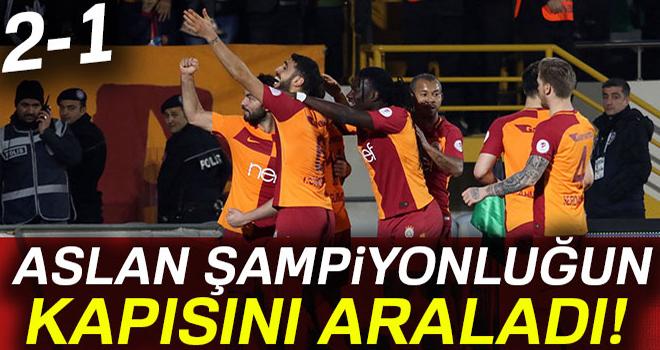Akhisar 1- 2 Galatasaray Maçı