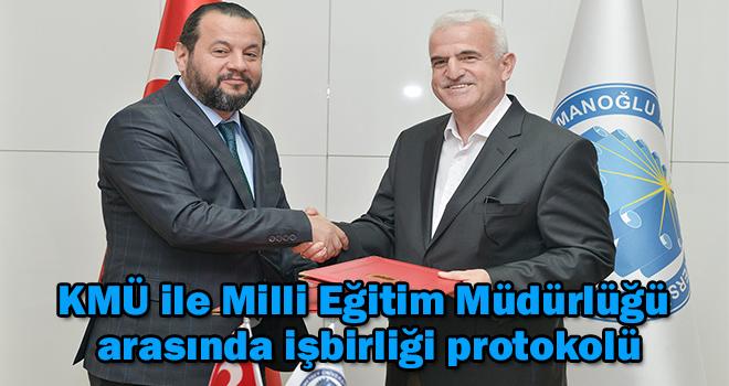 KMÜ ile Milli Eğitim Müdürlüğü arasında işbirliği protokolü