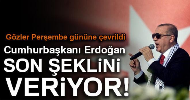 Cumhurbaşkanı Erdoğan seçim beyannamesine son şeklini veriyor