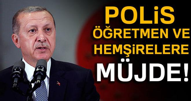 Cumhurbaşkanı Erdoğan: Buradan bir müjde veriyorum