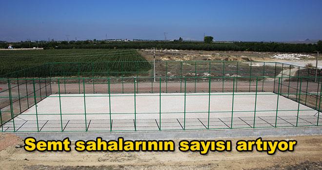 Karaman'da semt sahalarının sayısı artıyor