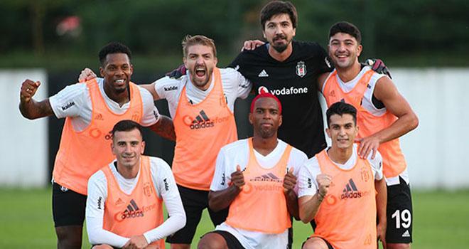 Beşiktaş, taktik ve kondisyon çalıştı!
