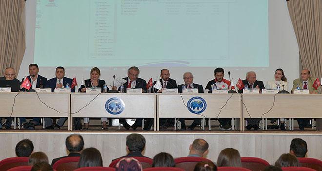 KMÜ, Türkiye Milli Olimpiyat Komitesini ağırladı