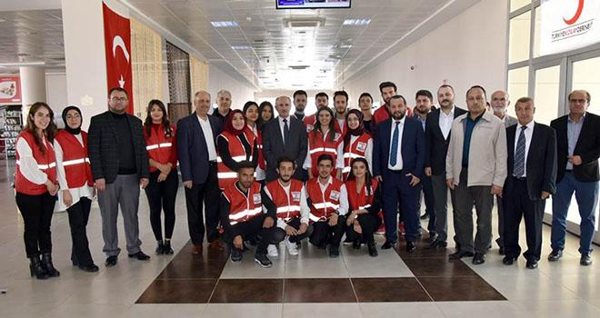 KMÜ'de Kızılay Hilal-i Ahmer Sergisi ve kan bağışı kampanyası düzenlendi