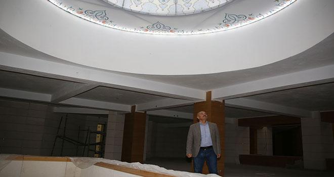 Başkan Çalışkan, Ahmet Yesevi Camisinde incelemelerde bulundu