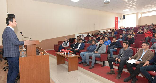 KMÜ'de savunma sanayi konferansı