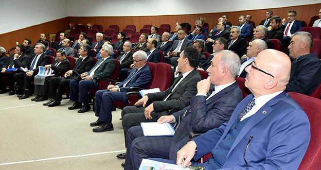 Karaman'da 2019 yılının ilk koordinasyon kurulu toplantısı yapıldı