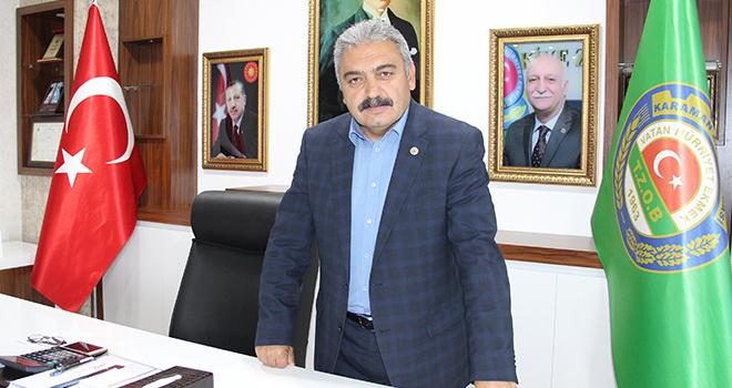 Karaman Ziraat Odası Başkanı Muğlu hayatını kaybetti