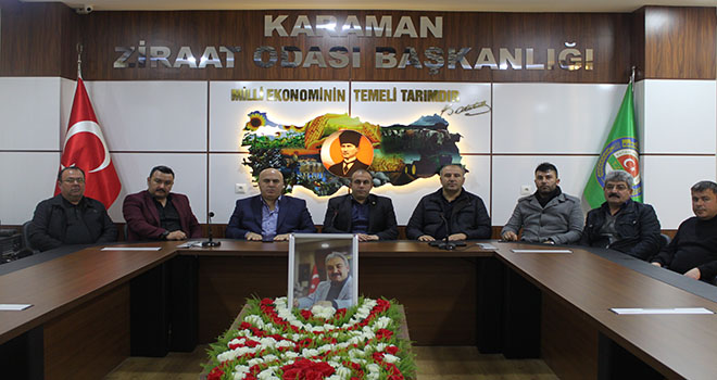 Karaman Ziraat Odası'nda yeni yönetim belli oldu