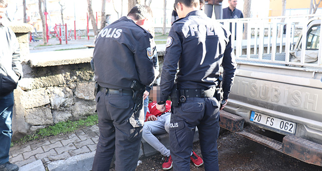 Karaman'da alkol 3 genci hastanelik etti