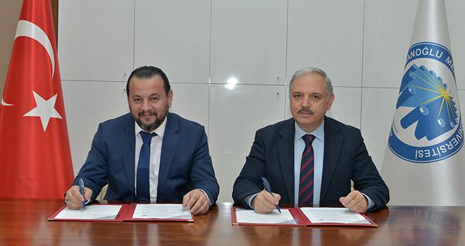 KMÜ ve İŞKUR'dan sanayi ve ekonomiye destek verecek protokol