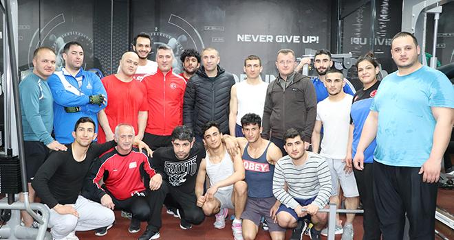 Görme Engelliler Judo Milli Takımı Karaman'da enerji depoluyor