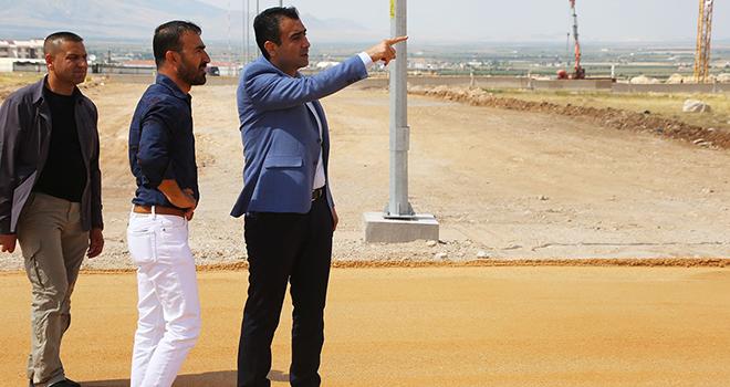 Başkan Kalaycı, belediye çalışmalarını yerinde inceledi