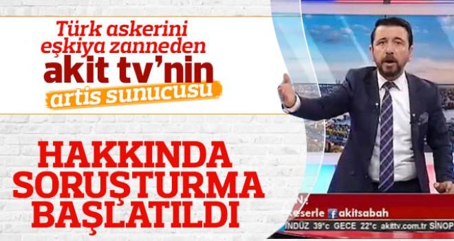 AKİT TV spikeri Ahmet Keser'e soruşturma