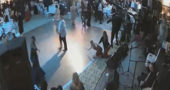 Ankara'daki düğünü böyle kana buladı