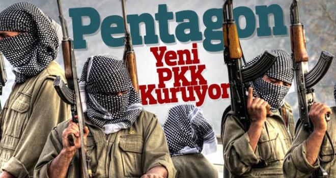 Pentagon yeni Pkk kuruyor