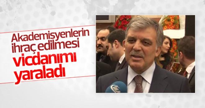 Abdullah Gül'den KHK yorumu