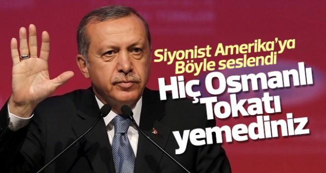 Siz hiç osmanlı tokatı yemediniz