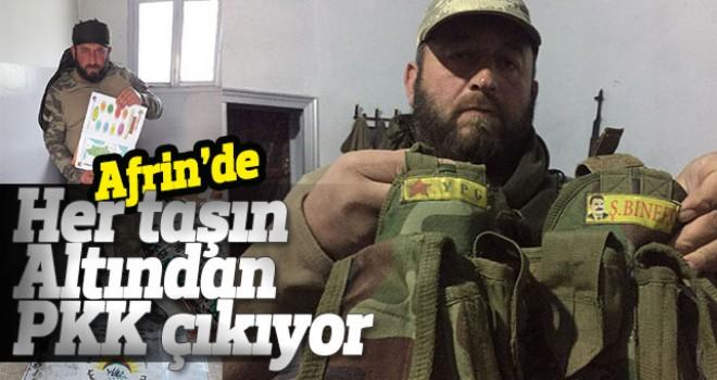 Her taşın altından PKK çıkıyor