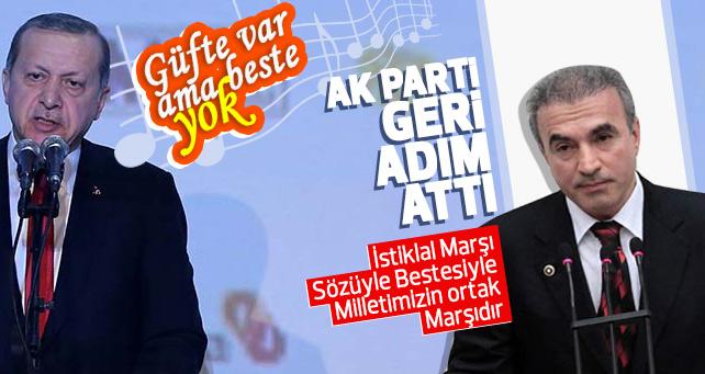AK Partiden geri adım