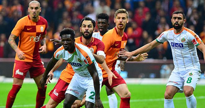 Alanyaspor ile Galatasaray 4. randevuda