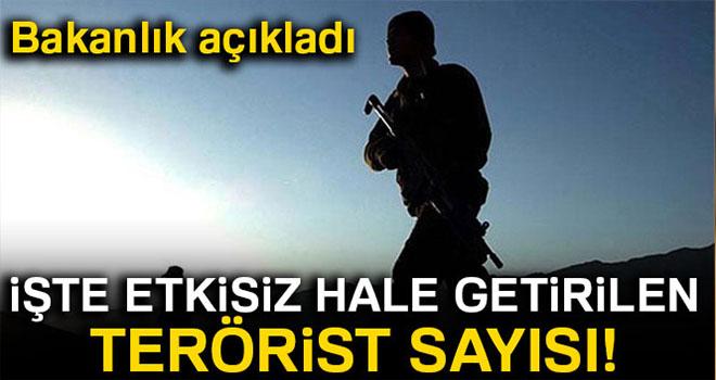 Son bir haftada 23 terörist etkisiz hale getirildi