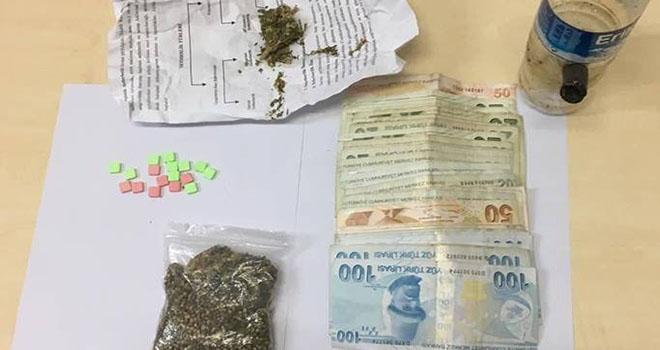 Karaman'da jandarmadan uyuşturucu operasyonu: 1 gözaltı
