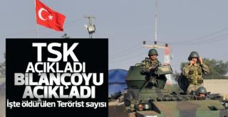 TSK Afrin Bilançosunu açıkladı