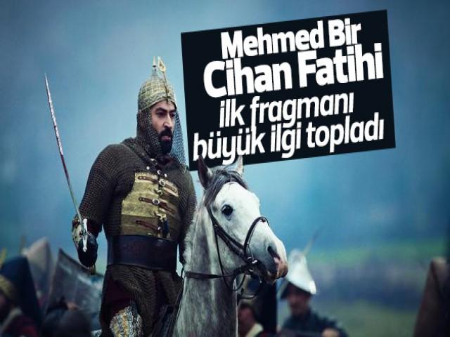 Mehmed Bir Cihan Fatihi' Dizisi'nden ilk görüntüler geldi